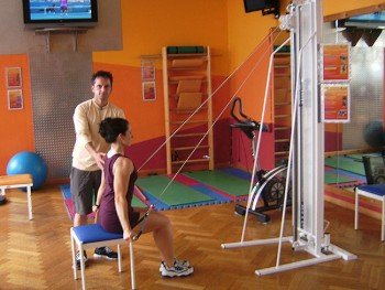 Training im Fitness-Studio 2